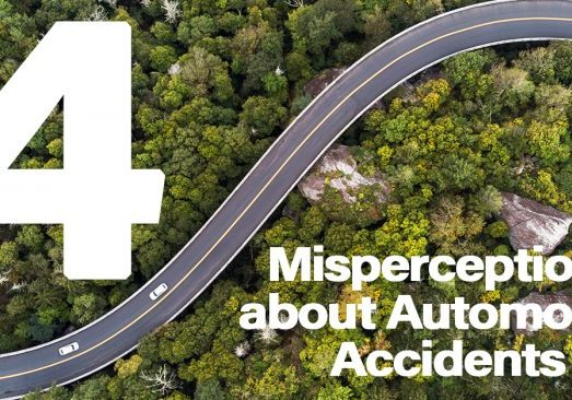 4 Misperceptions about Automobile Accidents