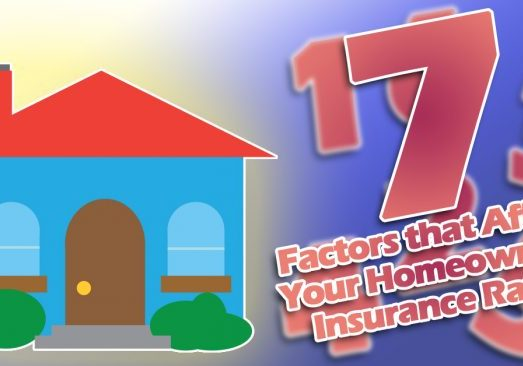 7 Factors that Affect Your Homeowner's Insurance Rates