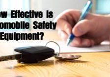 How Effective is Automobile Safety Equipment_